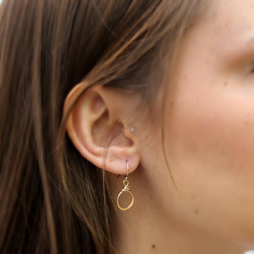 Bebe Hoop Earrings