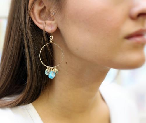 My Everything Hoop Earrings