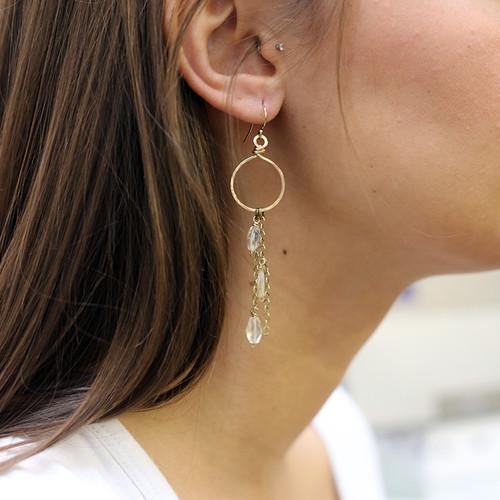 Cascade Hoop Earrings