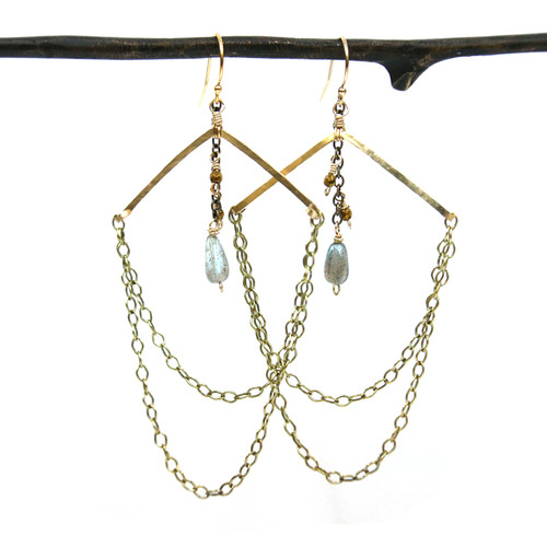 Fogg Chandelier Earrings