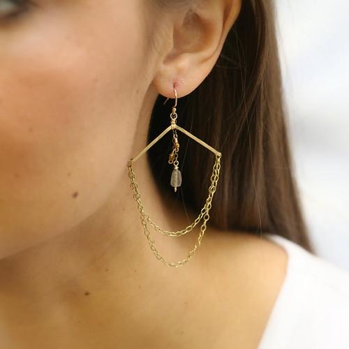 Fogg Chandelier Earrings