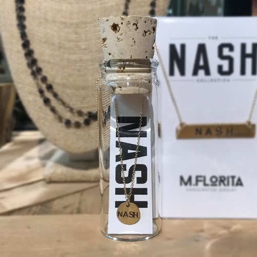 City Circle Charm in a Bottle (NASH)