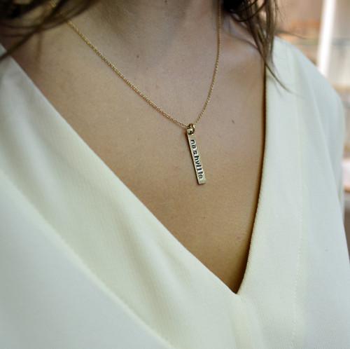 City Slicker Necklace Custom