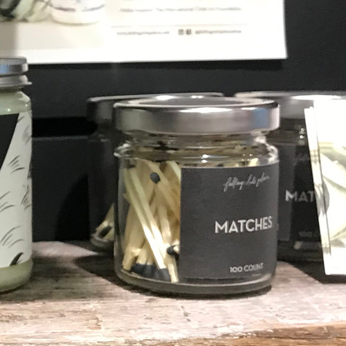 FIP Matches in a Jar 100