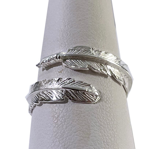 Feather Ring Sterling