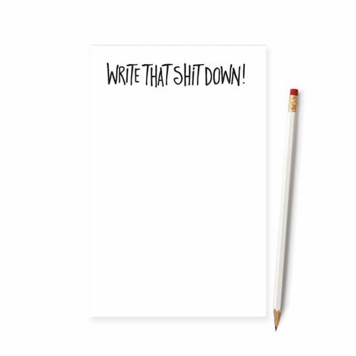 Tiramisu Paperie Notepad