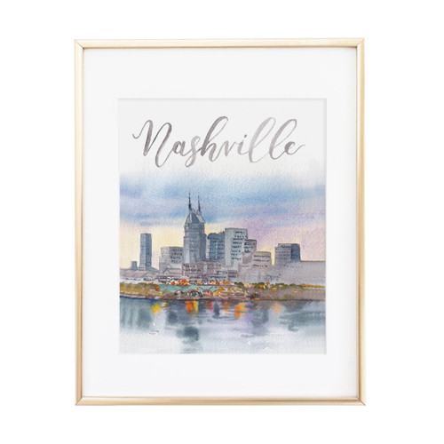 Cami Monet Nashville Art Print