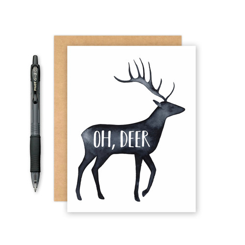 Oh, Deer Card