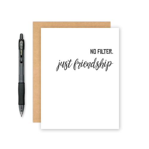 Friendship Card or Thank You Card