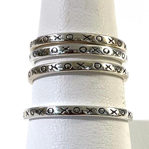 XO Ring Sterling