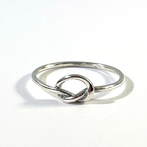 Love Knot Ring Sterling
