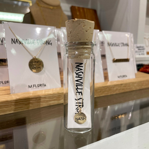 NASHville Strong Necklace in a Bottle