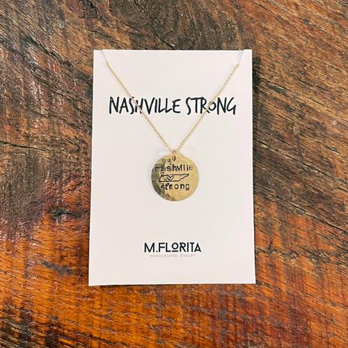 Nashville Strong State Necklace