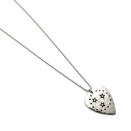Long TN Guitar Pick Necklace