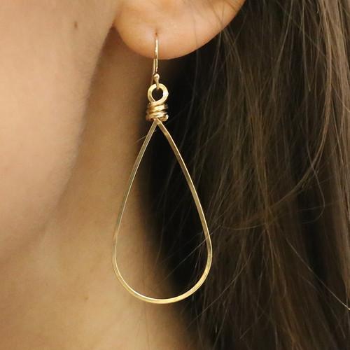 Oriel Loop Earrings