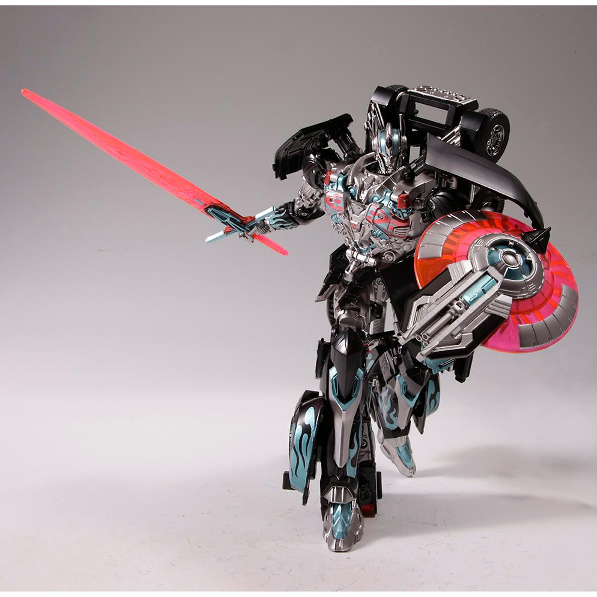 Transformers Movie Advanced series Black Knight Optimus Prime Action Figure