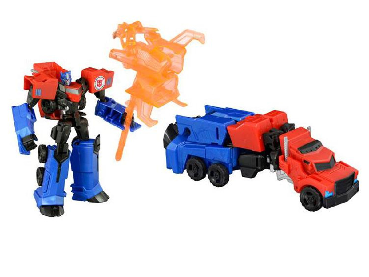 Transformers Adventure TAV41 gravité /& Optimus Prime gravité Armor