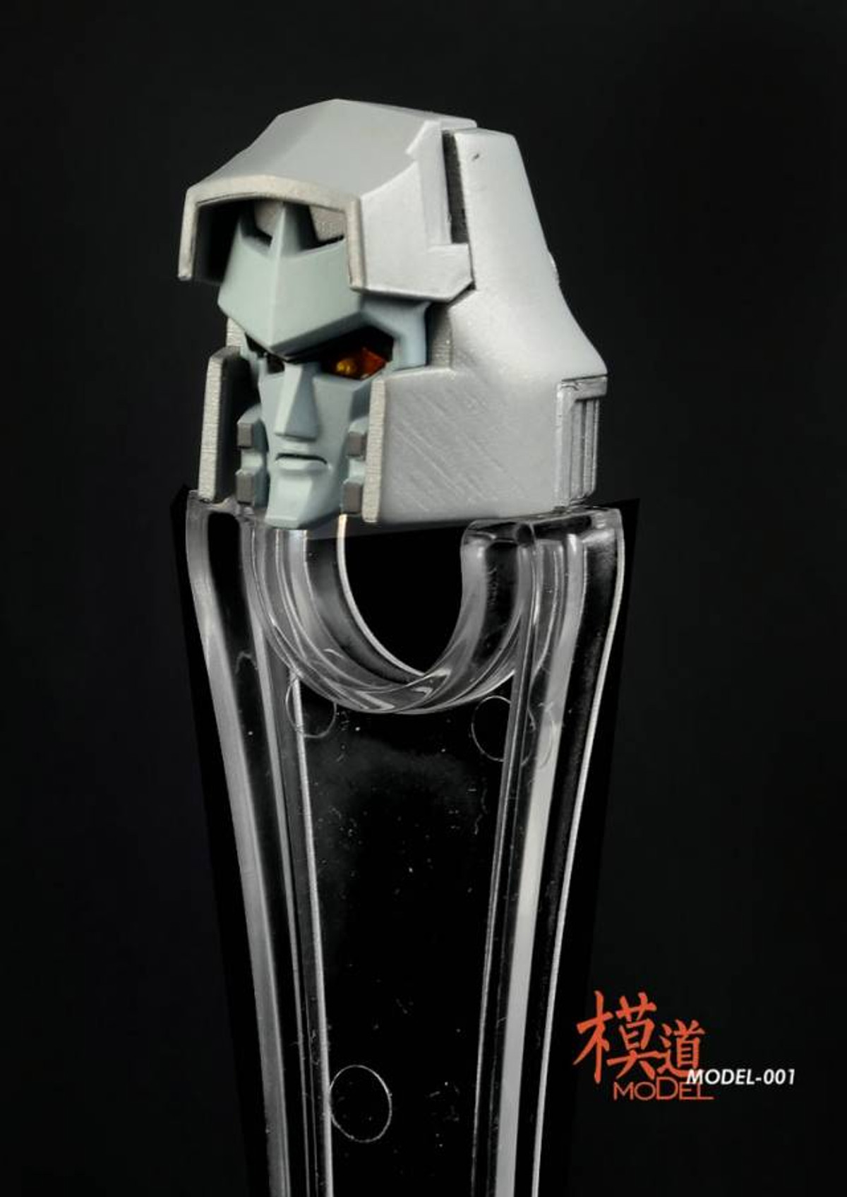 MODEL MODEL-001 MP-36 MEGATRON UPGRADE KIT WITH LIGHT-UP HEAD,Metal Ver.