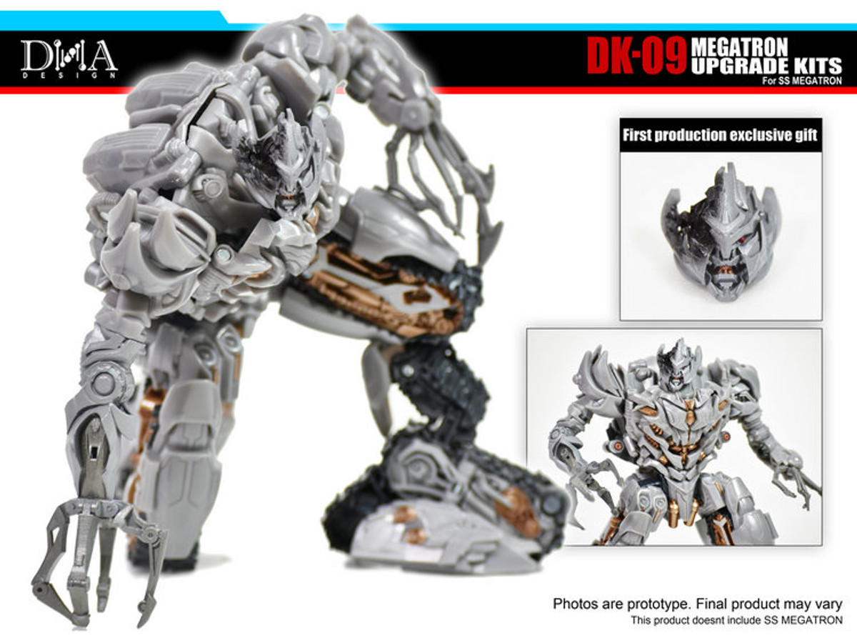 Transformers toy DNA DK-09 Upgrade Kits for For SS13 Megatron New will arrival