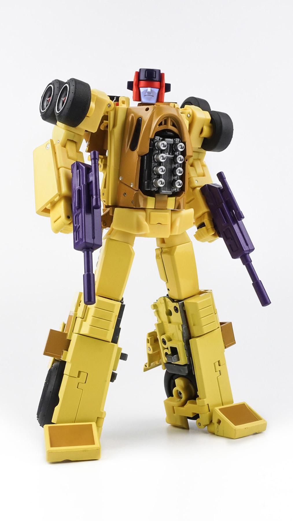 NEW X-TRANSBOTS Transformers MX-15 Deathwish Deadend Menasor Figure In Stock