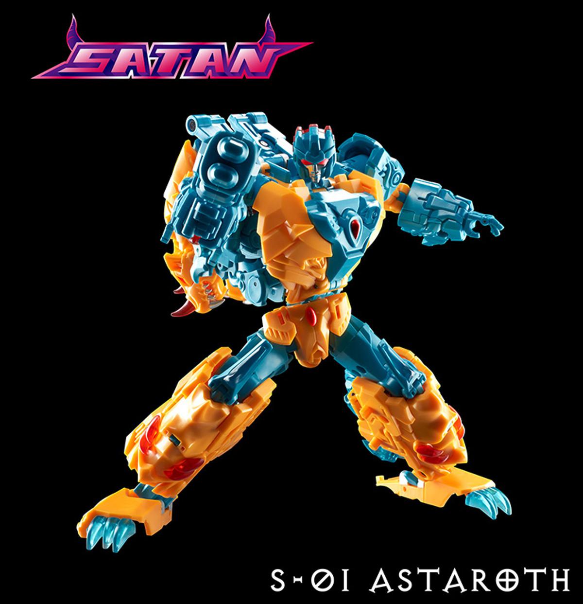 NEW TFC TOYS Satan S-01 ASTAROTH Figure In Stock