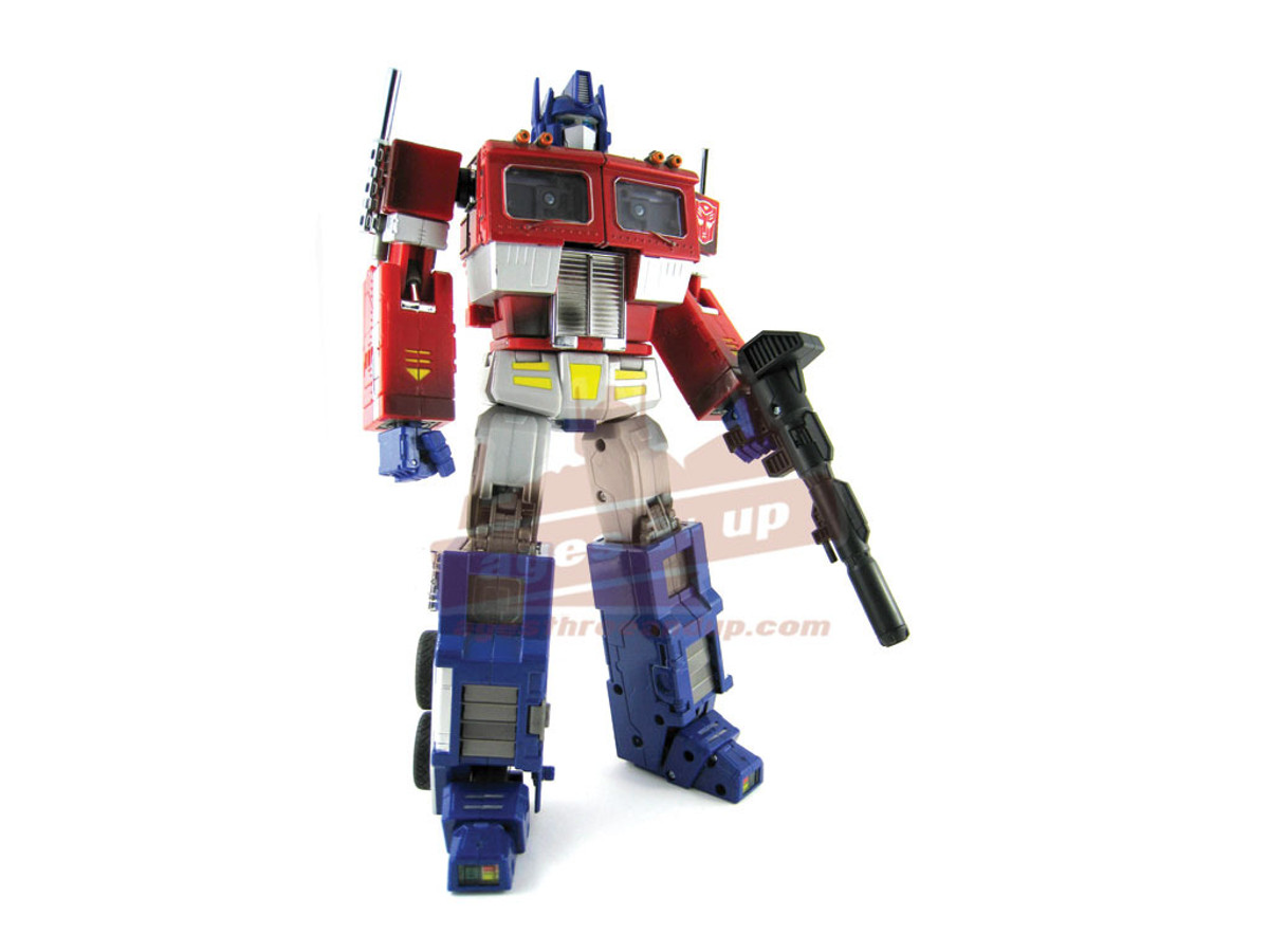 Transformers Optimus Prime Metal MP01 Master Piece With Trailer Ages 5 New Toy