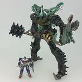 Transformers Movie 10TH Anniversary - MB-09 Dinoride Grimlock & Optimus Prime