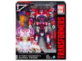 Transformers Generations Titans Return - Voyager Class Wave 02 - Alpha Trion