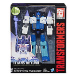 Transformers Generations Titans Return - Decepticon Overlord