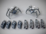 Toy Notch - Astrobots A03 Tarantula and Wasp 2 Pack