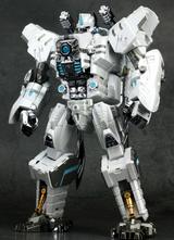 Generation Toy - GT-10A Gorilla Chrome White Version