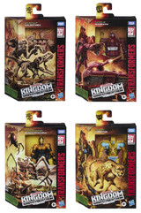 Transformers War for Cybertron: Kingdom - Deluxe Wave 1 Set of 4 Figures