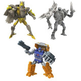 Transformers War for Cybertron: Kingdom - Deluxe Wave 2 Set of 3 Figures