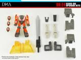 DNA Design - DK-24 SS86-06 Grimlock and Wheelie Upgrade Kit