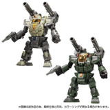 Diaclone Reboot - DA-84 Powered Suits System Set [Cosmo Marines Version]