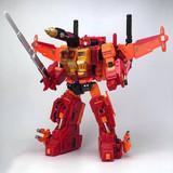 Fans Hobby - MasterBuilder - MB06D Power Baser + MB-11D God Armour (Orange Set)