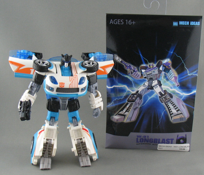 Mech Ideas - WS-01 Long Blast Upgrade Kit With Jazz