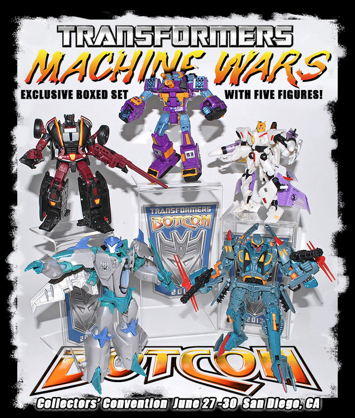 Botcon 2013 - Convention Exclusive - Machine Wars: Termination Loose Set