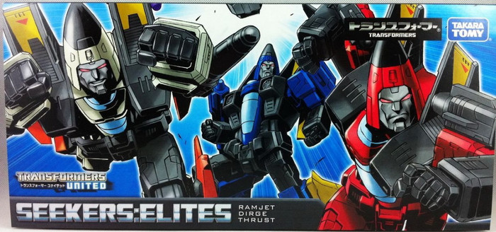 Henkei Classics - Decepticon Seeker Elites - Dirge, Ramjet and Thrust