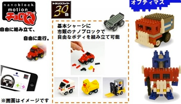 Transformers Nanoblock Motion Choro-Q - Optimus Prime