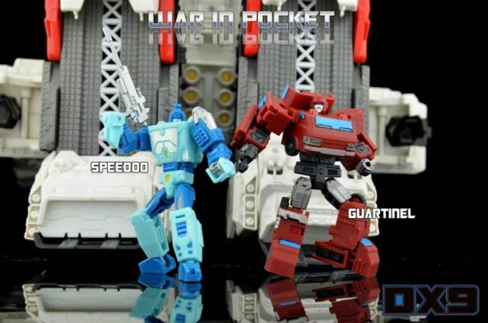 DX9 - X01 Speedoo & X02 Guartinel Set of 2