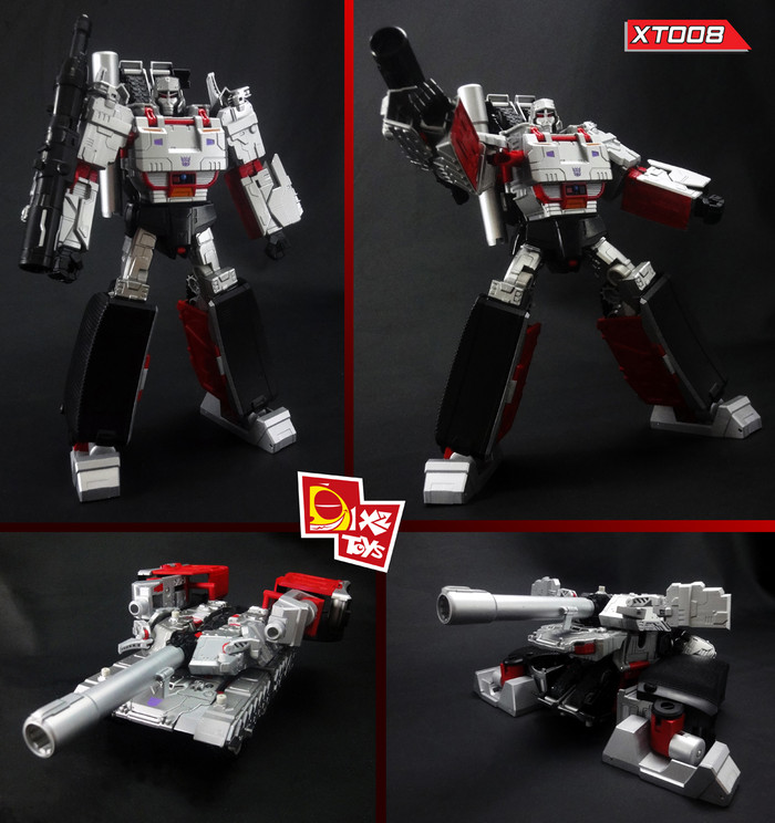 X2 Toys - XT008 Upgrade Kit for Combiner Wars Leader Class Megatron