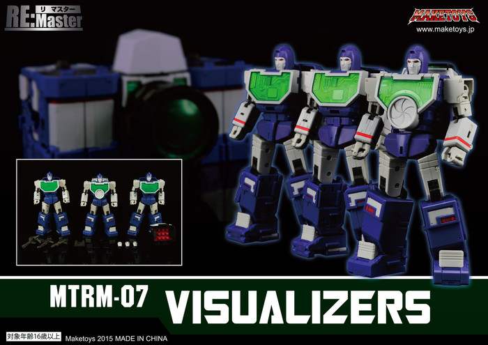 Maketoys Remaster Series - MTRM-07 – Visualizers - Restock
