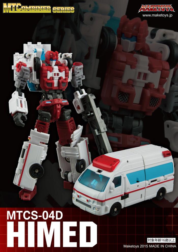 Maketoys Combiner Series - MTCS-04D - HiMed (Guardia)