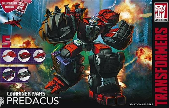 Botcon 2016 - Dawn of the Predacus - Exclusive Boxed Set