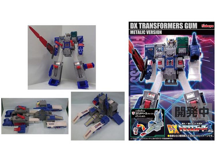 Kabaya - Transformers DX Fortress Maximus Series - Set of 3 Metallic Version