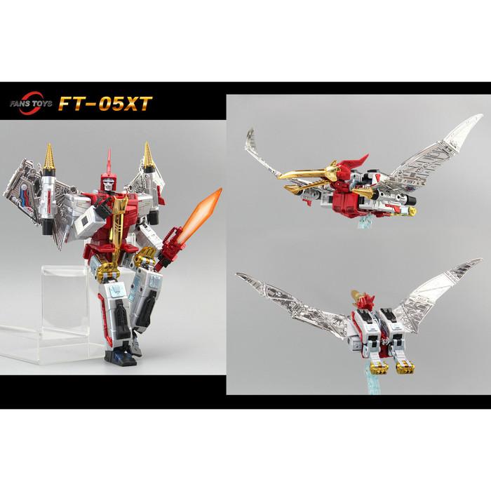 Fans Toys FT-05XT - Red Soar Limited Color Version