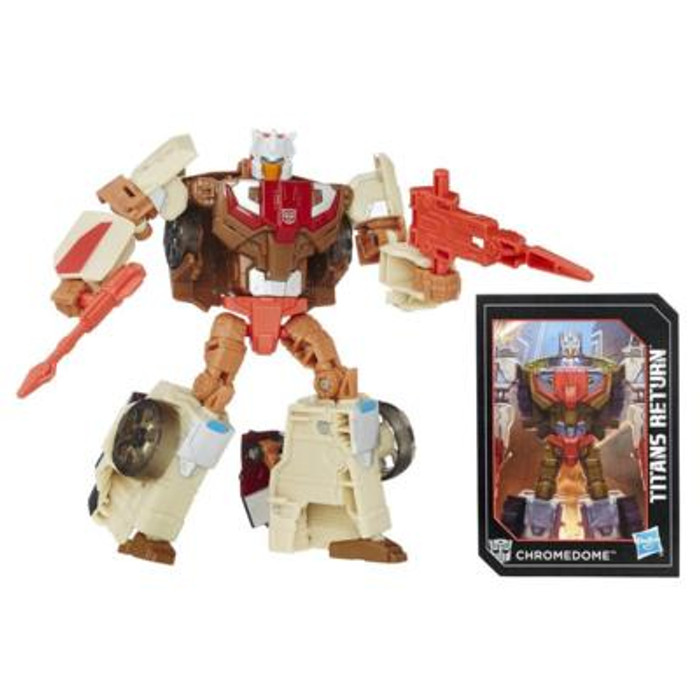 Transformers Generations Titans Return - Deluxe Class Chromedome