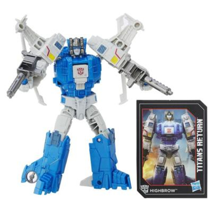 Transformers Generations Titans Return - Deluxe Class Highbrow
