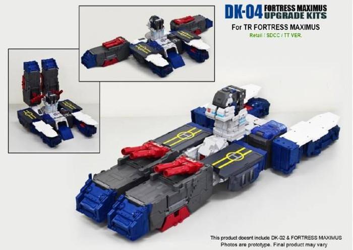 DNA Design - DK-04 Fortress Maximus Upgrade Kit